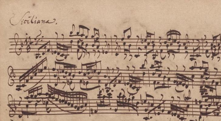 manoscritto-BWV-1001-siciliana